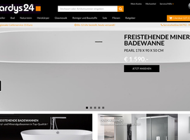 hardys24.de Bad Online Shop Shopware